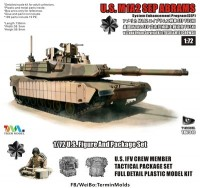 T-MODEL TK-7310 M1A2 SEP 1/72 M1A2 tust1+ фигурка