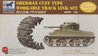AB3547 1/35 Sherman Cuff Type Workable Track Link Set