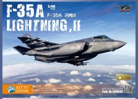 KH80103 1/48 F-35A SLightning II Kitty Hawk