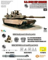 T-MODEL TK-7310 M1A2 SEP 1/72 M1A2 tust1+ фигурка+ мет.ствол