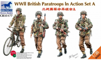 CB35177 1/35 WWII British Paratroops In Action Set A