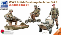 CB35192 1/35 WWII British Paratroops In Action