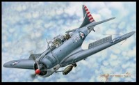 "Merit 61801 1/18 SBD-3/4 ""Dauntless"" Dive Bomber"