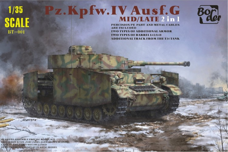 Border Model BT001 1/35 Panzer IV G
