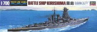 Hasegawa 49112 1/700 Линкор BATTLE SHIP KIRISHIMAI