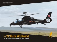 DM720011 1/72 Z-19 'Black Whirlwind' PLA Army Attack Helicopter