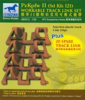 AB3513 1/35 Pz.Kpfw.II Workable Track Links