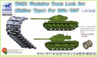 AB3566 1/35 T-84E1 Workable Track Link Set(Rubber Type)