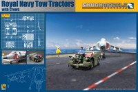 Kinetic 1/48 SW-48017 Royal Navy Tow Tractors with Crews