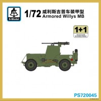 PS720045  1/72 Armoured Willys MB