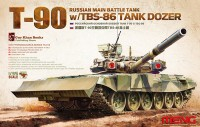 TS-014	1/35 Russian Main Battle Tank T-90 w/TBS-86 Tank Dozer