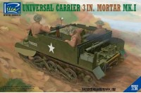 RV35017	1/35 Universal Carrier 3 inch mortar Mk. I
