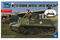 RV35034	1/35 British Airborne Universal Carrier and welbike Limited Edition