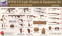 AB3558 1/35  WWII US Light Weapons Equipment Set