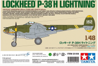 25199 1/48 Lockheed P-38H Lightning