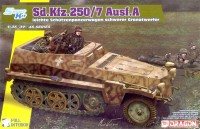 6858 1/35 Sd.Kfz.250/7 Alte 8cm Mortar Carrier w/ Full Interior Dragon - Nr. 6858 - 1:35
