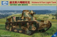 CV35005 1/35 Vickers 6-Ton Light Tank Alt B Early Production - Poland Riverted Turret