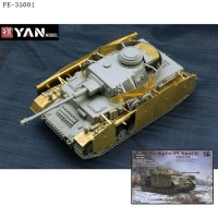 YAN MODEL PE-35001 1/35 травление на Border Model BT-001 1/35 Panzer IV G