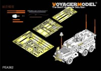 PEA362 1/35 Modern US COUGAR 6x6 MRAP additional parts (For MENG SS-005) 1 350 руб.