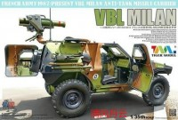 4618 1/35 French VBL with Milan Anti-Tank Missile Launcher