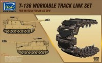 RE30002 1/35 T-136 Workable Track set for M108/M109A1-A5
