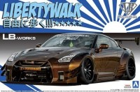 05591 1/24  LB.Works R35 GT-R Type 2 Ver.1 Liberty Walk