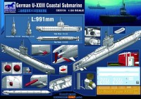 CB35104 1/35 German U- XXIII Coastal Submarine