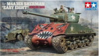 35359 M4A3E8 Easy Eight Korean War + GAZ-67 1:35