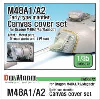 DM35072 IDF Magach 1(M48A1) Canvas cover set (for Dragon 1/35)
