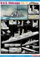7121 1/700 USS Chicago CG 11 Kit First Look