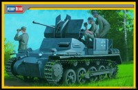80147 1/35 German Flakpanzer IA w/Ammo Trailer