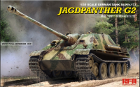 RM-5022 1/35 Jagdpanther G2 with full interior & workable track links+БОНУЧ(Фигурка)