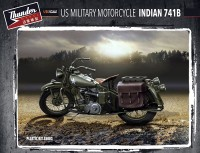 TM35003 1/35  US Military Indian 741B (2 kits in box)