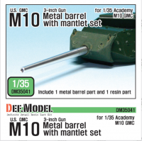 DM35041 U.S. M10 GMC Barrel and Mantlet Set
