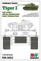 RM-5002 1/35 WORKABLE TRACKS FOR TIGER I