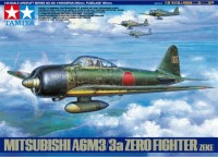 61108 1/35 Mitsubishi a6m3/3a ZERO FIGHTER+ (4 фигурки)