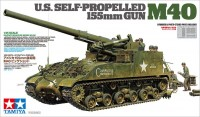 35351 1/35 U.S.Self-Propelled 155mm Gun M40