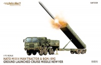 UA72328 1/72 Nato M1014 MAN Tractor & BGM-109G Ground Launched Cruise Missile