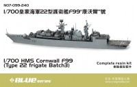 Orange Hobby 7099 1/700 HMS Cornwall F99 Type 22 Frigate Batch 3