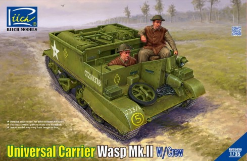 RV35036 1/35 Universal Carrier Wasp Mk.II with Crew