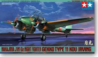 Tamiya 61093	1/48 NAKAJIMA J1N1-Sa NIGHT FIGHTER GEKKO TYPE11 KOU (IRVING)
