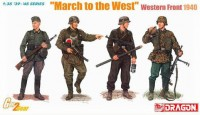 6703 1/35 March to the West (Western Front 1940)