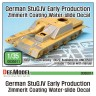 DD35011 WWII Stug.IV Early Zimmerit Decal set (1/35 Acacemy new, Dragon kit)