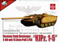 UA35018 1/35 German Tank Destroyer E-60 mit 12.8cm Pak L/55