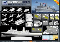 NB5024	1/350 USS LPD-21 'New York'