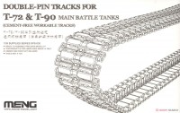 SPS-030 1/35 DOUBLE-PIN TRACKS FOR T-72 & T-90 MAIN BATTLE TANKS