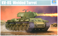01568 1/35 KV-8S Welded Turret (Танк KV-8S Welded Turret)