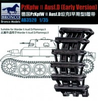 AB3520 Bronco 1/35 German PzKpfw II Ausf D (Early Version) Workable Track Link Set