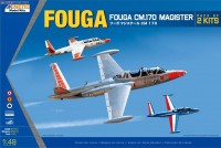 K48051 1/48 French/Beligan/Israeli FOUGA...