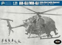 KH50004 1/35 AH-6J/MH-6J Little Bird w/Figures